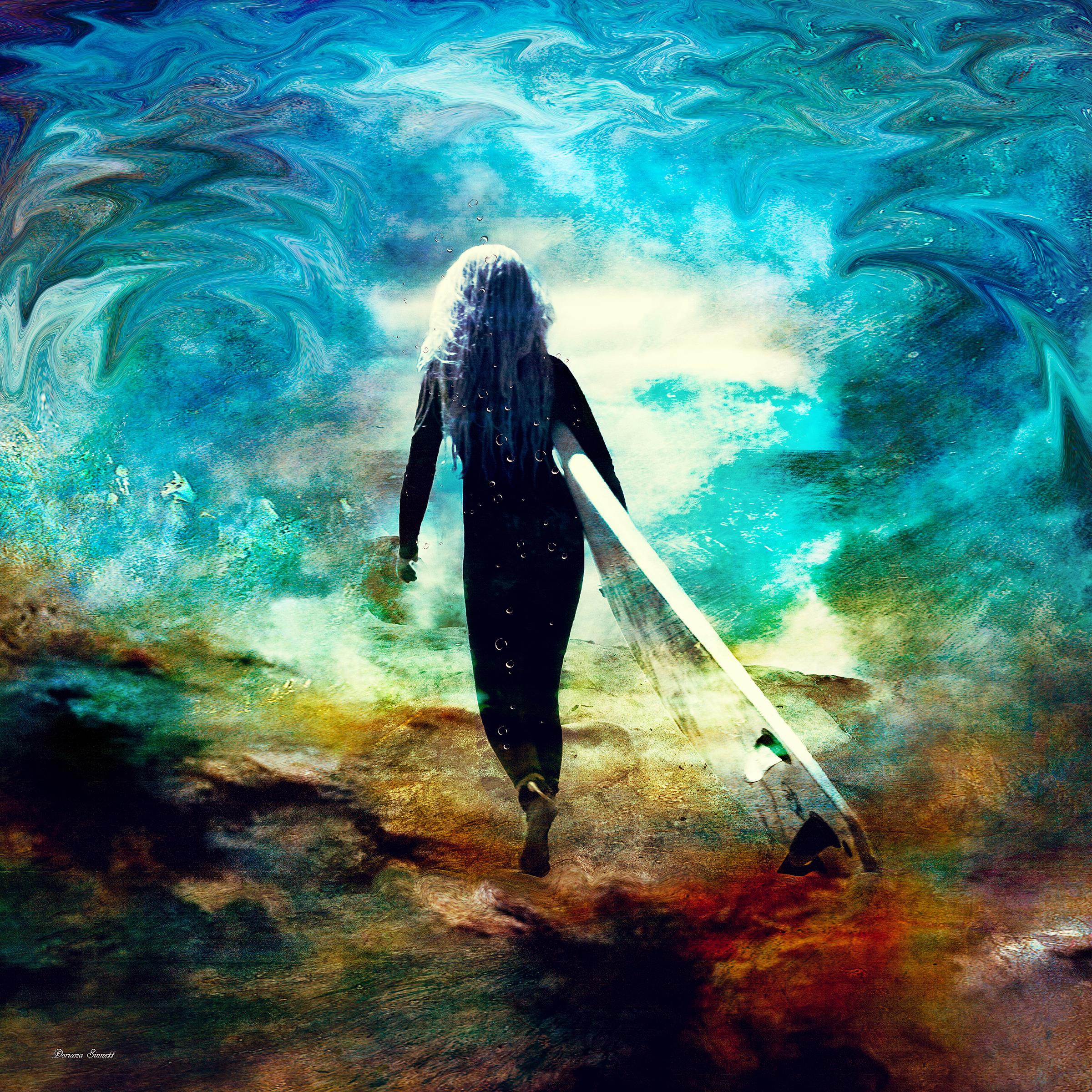 The Surfer..BUY   https://artboja.com/art/38vvy2/22067.php