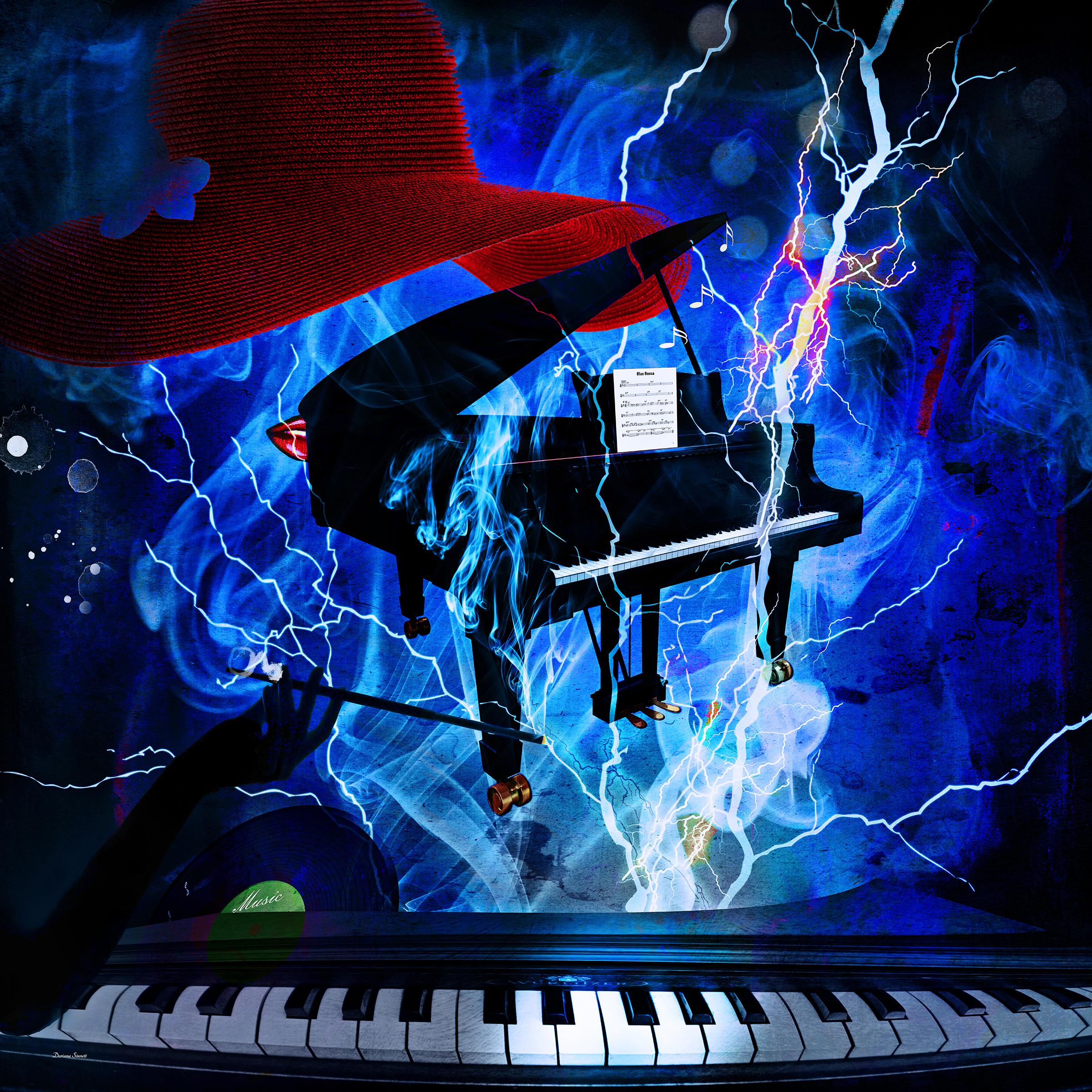 Piano Blues… Buy  https://artboja.com/art/38vvy2/22657.php