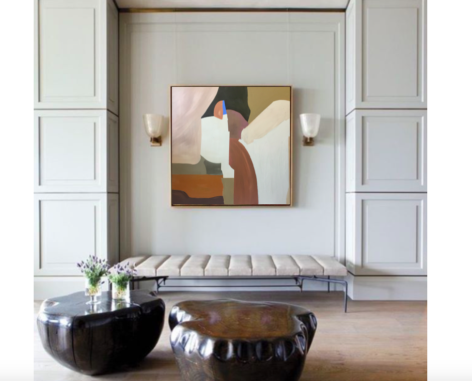 from @luxedco, design by @fernsantini, art available through @wellandwonder