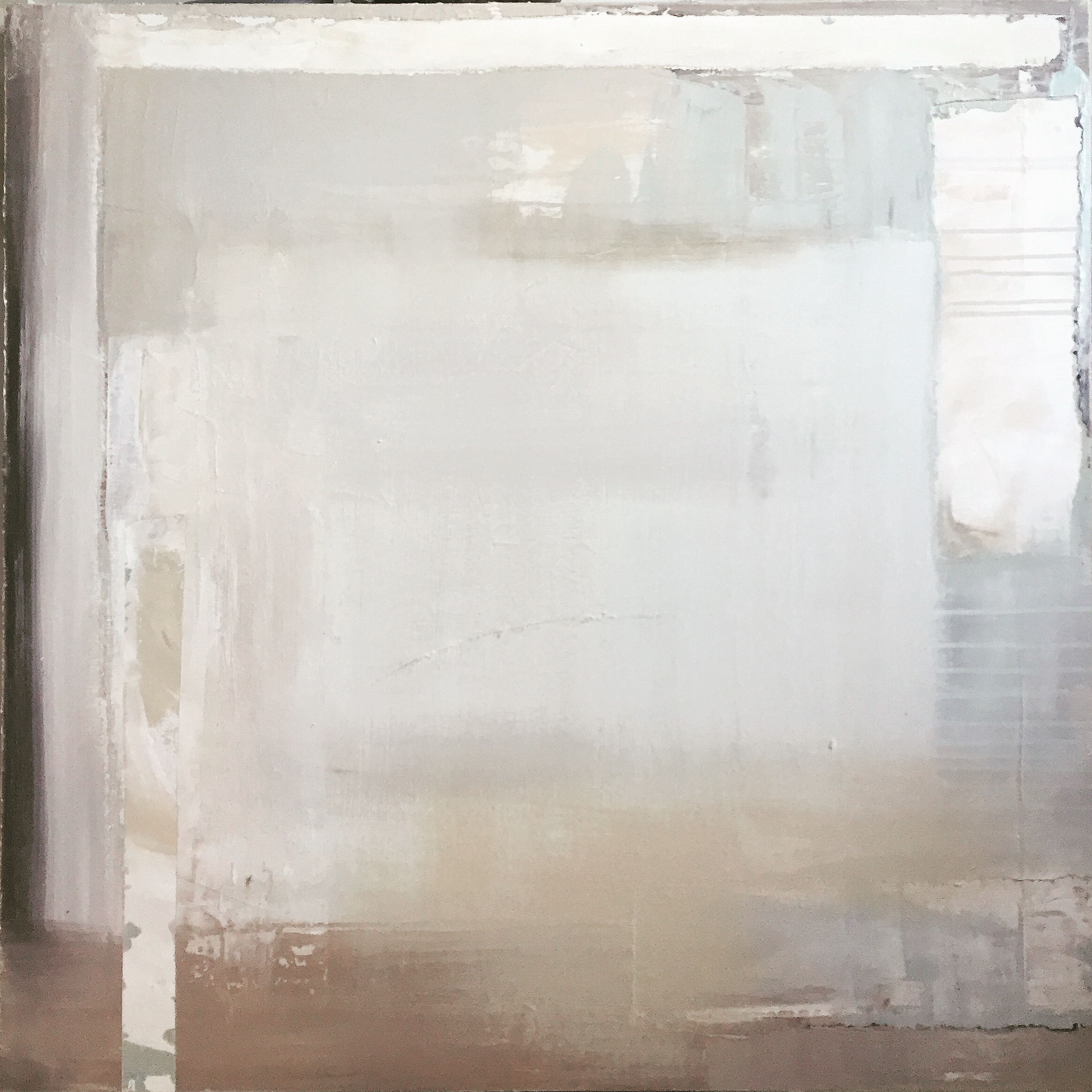 36 x 36 mixed media on canvas