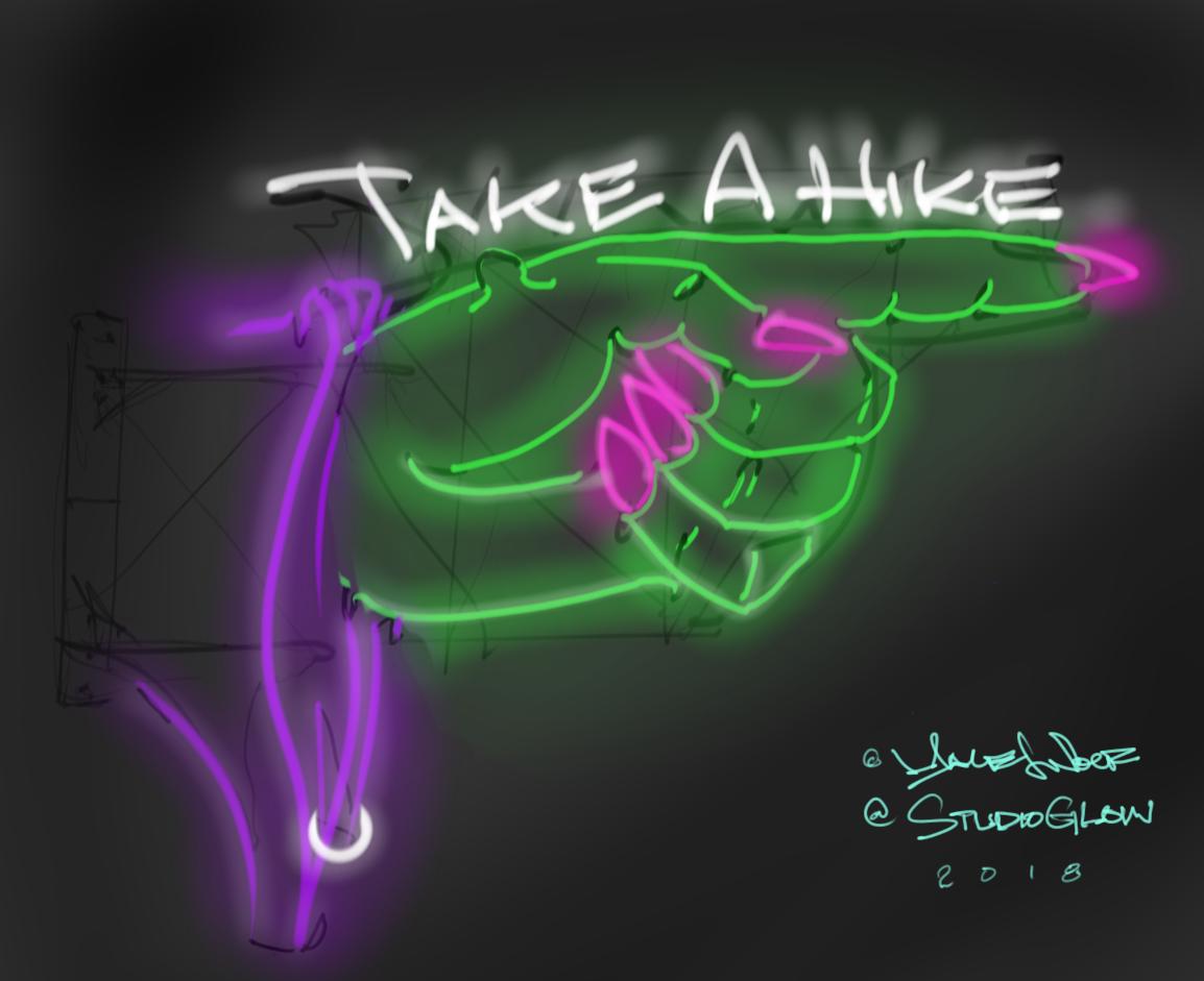 """Take a Hike"""