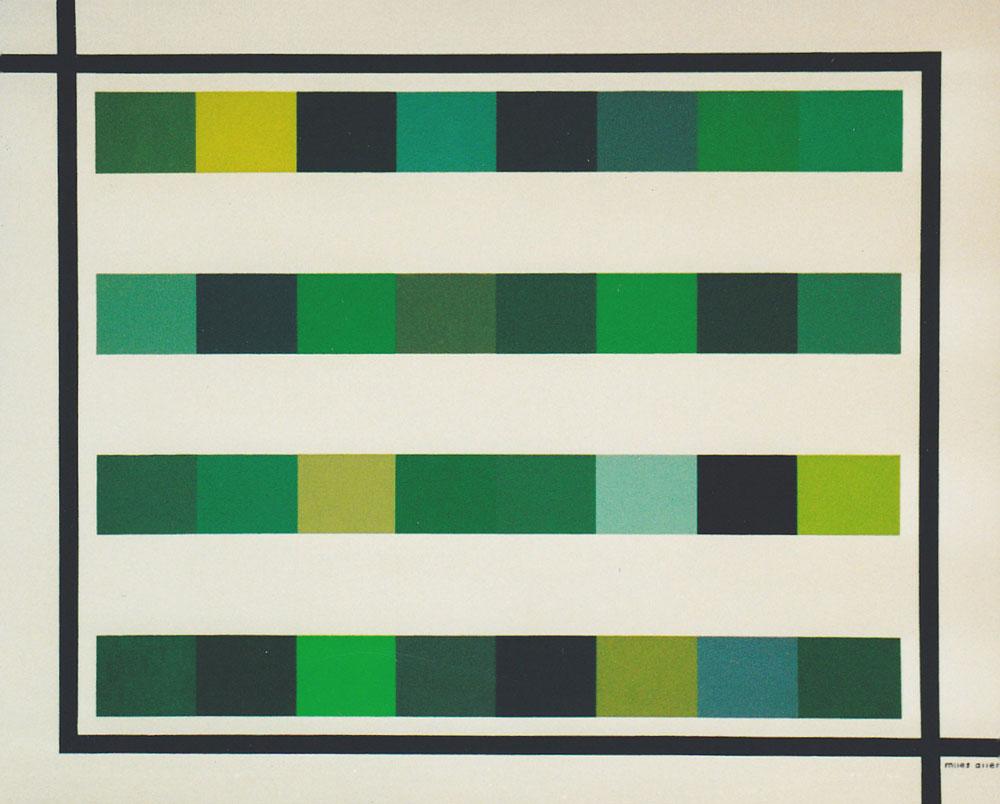 32 shades of green