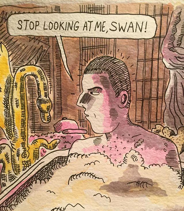 Making Adam Sandler comics