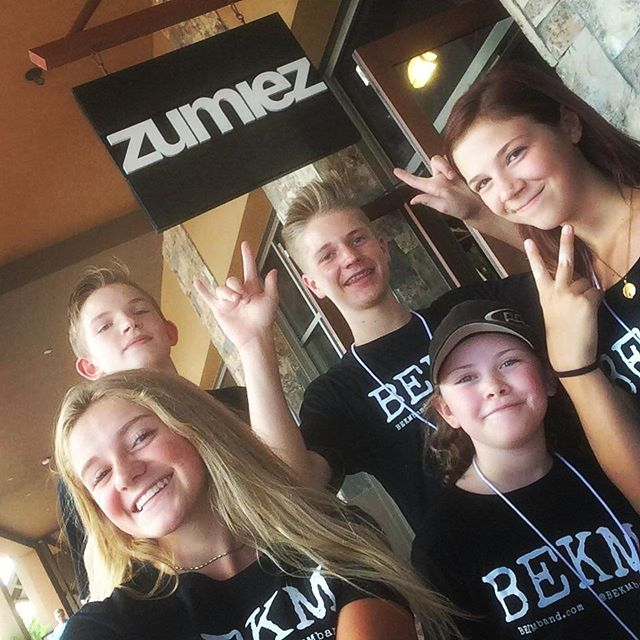 Thank you #Zumiez for our rockin' clothes!! You'll see when we take the stage 😍 #rocktraverse #BEKM @zumiez