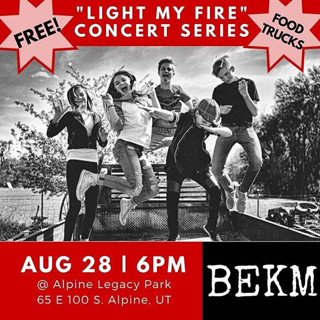 COME HANG OUT w/ US - THIS MONDAY! #BEKM #LightMyFire