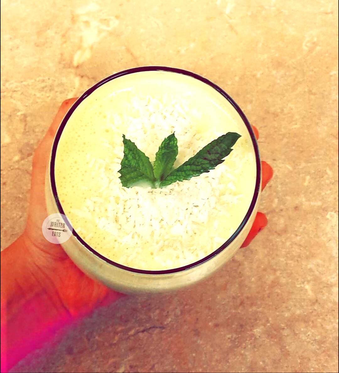 Mango Mint Smoothie