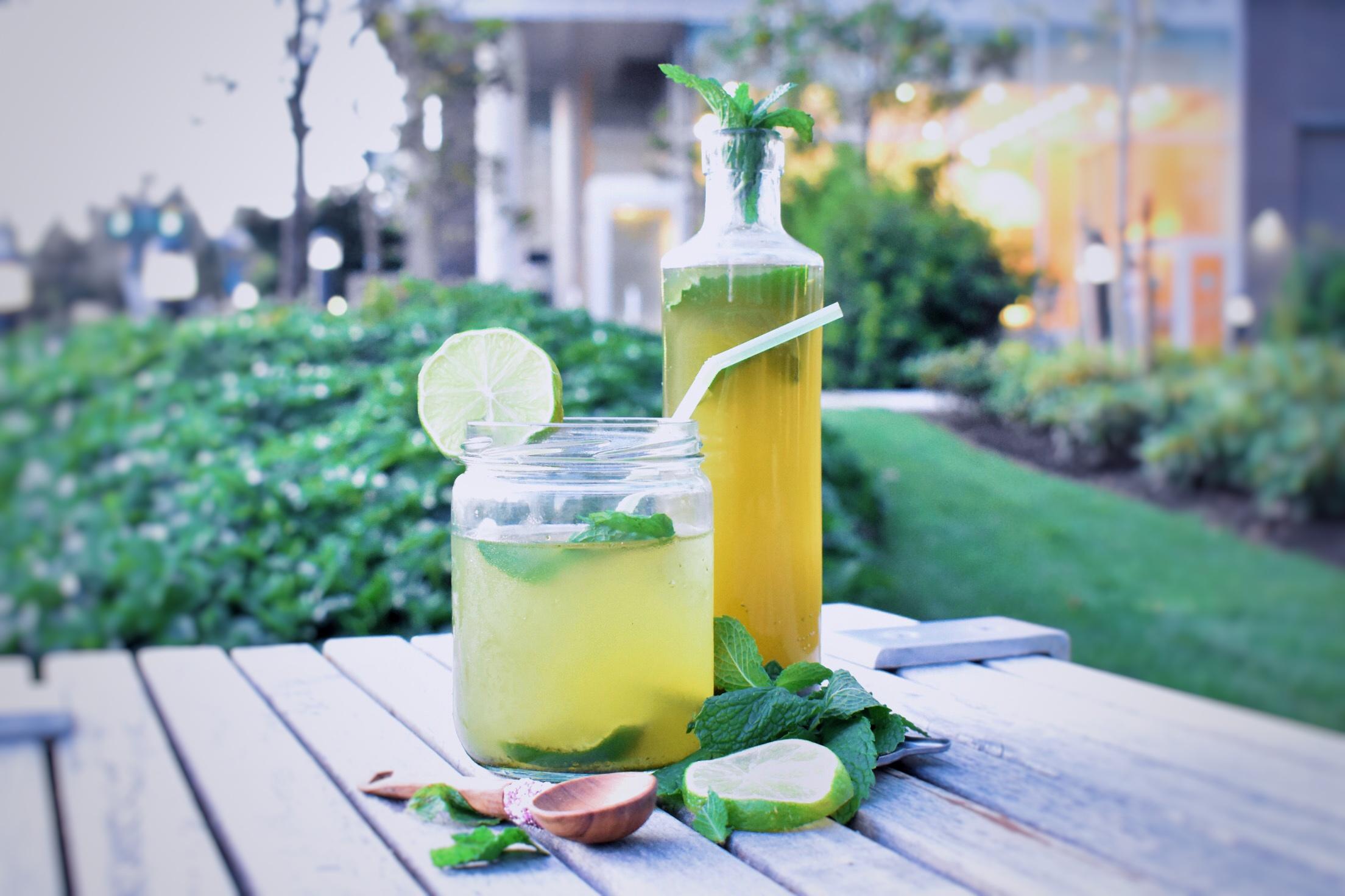 Lime Mint Multivitamin Chiller/ Tea