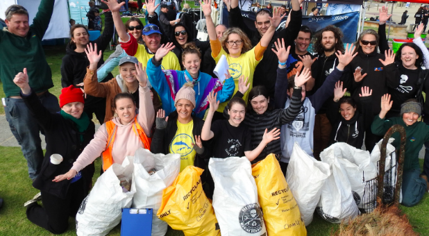 On the 15th of June Action for Dolphins hosted one of Melbourne's biggest beach cleans.