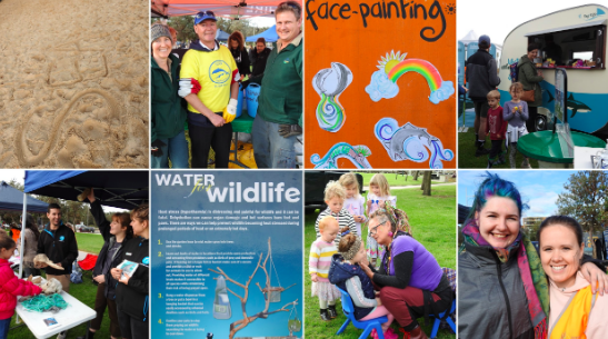 Families, students and local organisations came together for a fantastic day.