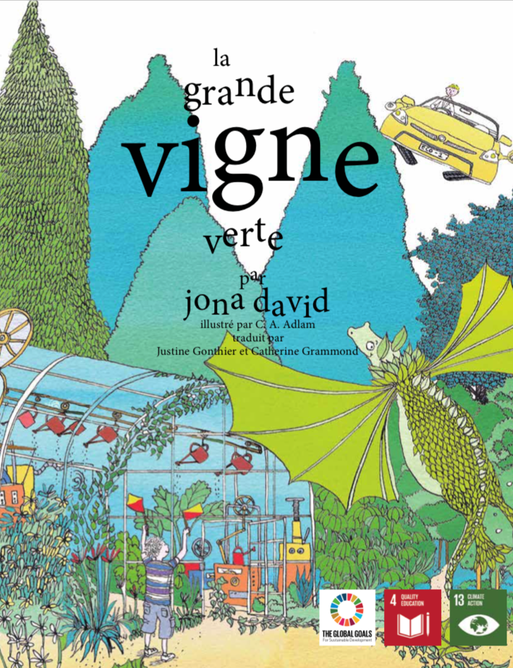 La grande vigne verde par Jona David
