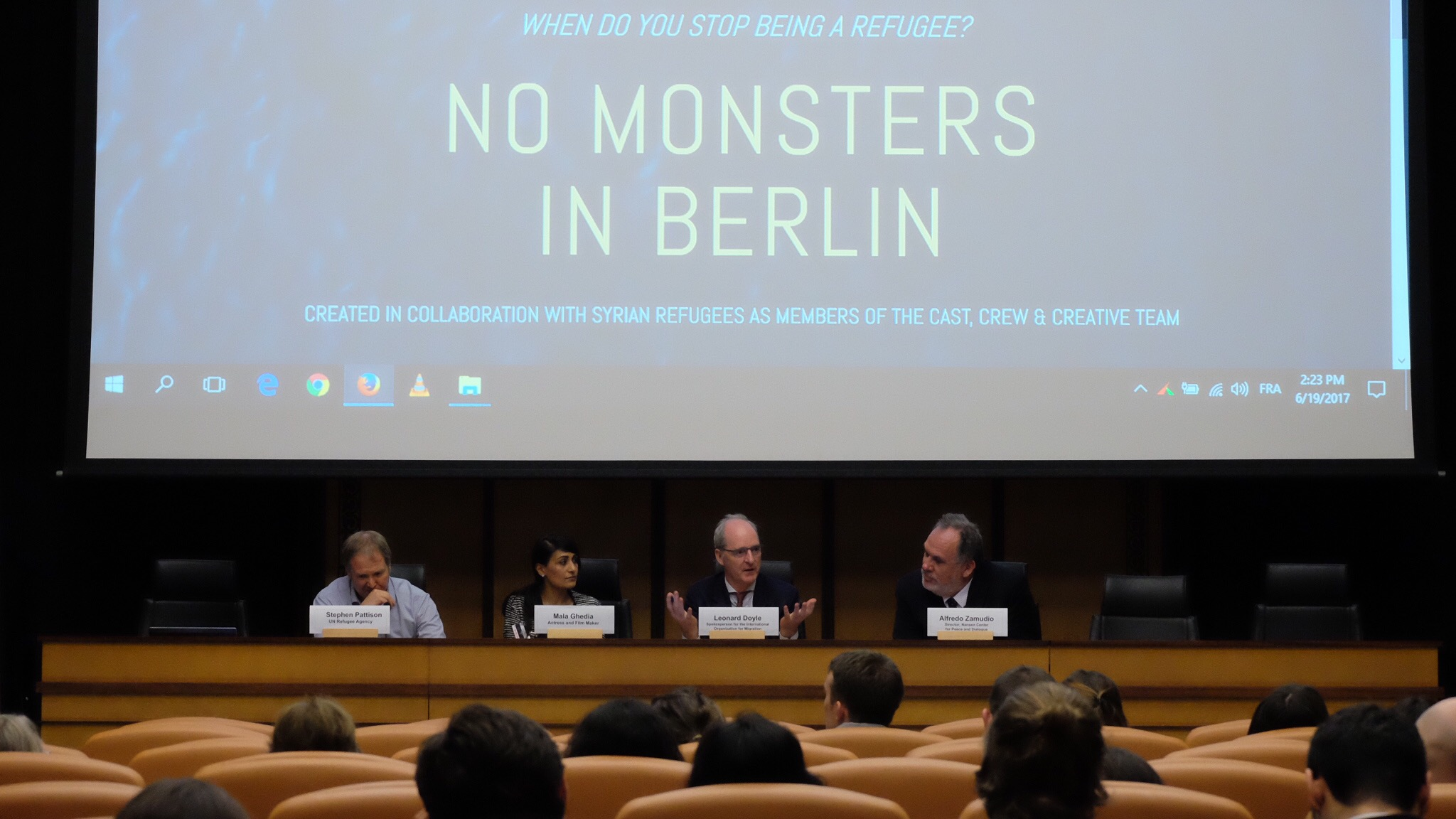 Screening at the UNITED NATIONS in June 2017