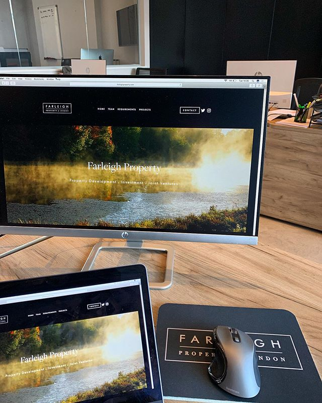 New @farleighlondon website going live very soon