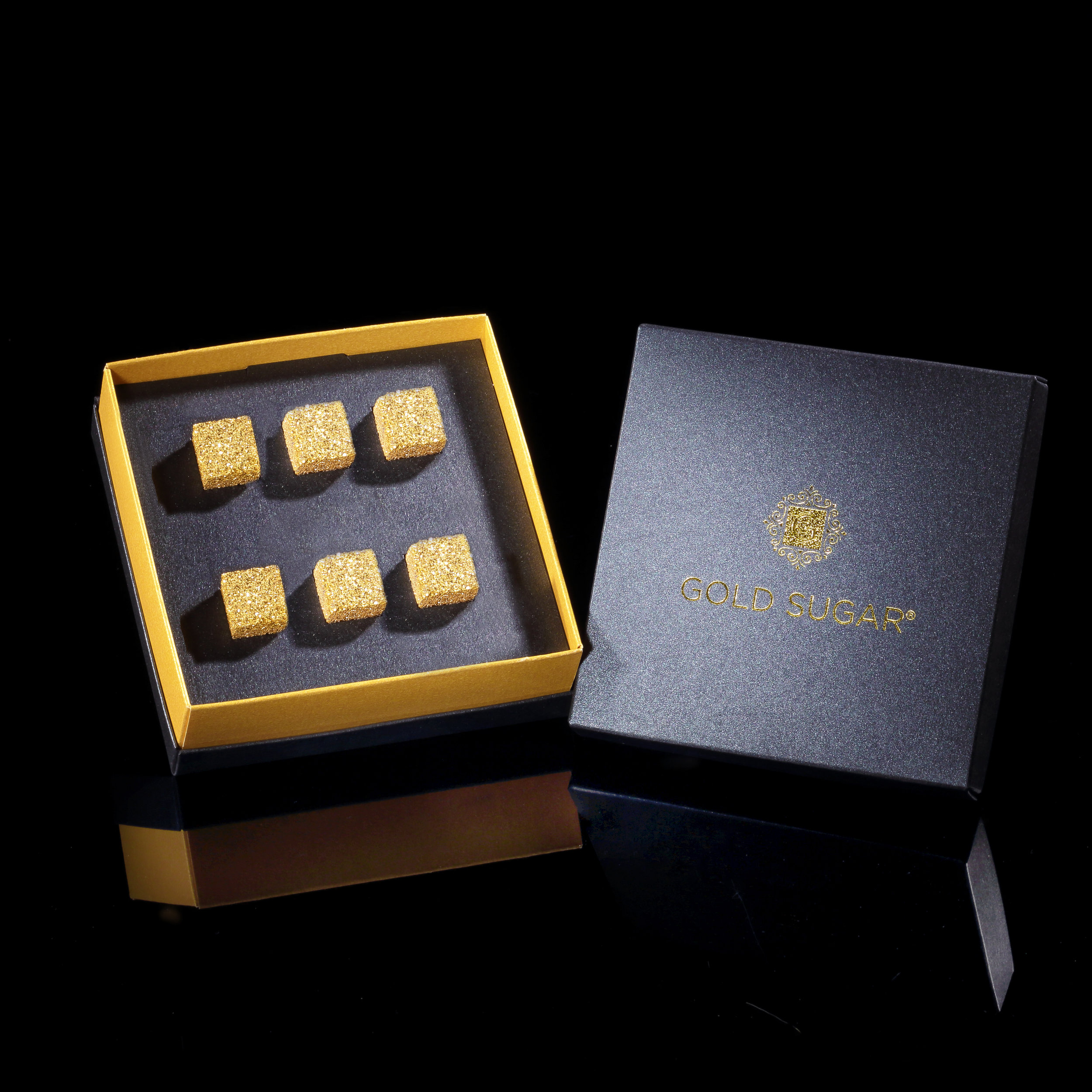 GOLD PLATED SUGAR  From £75