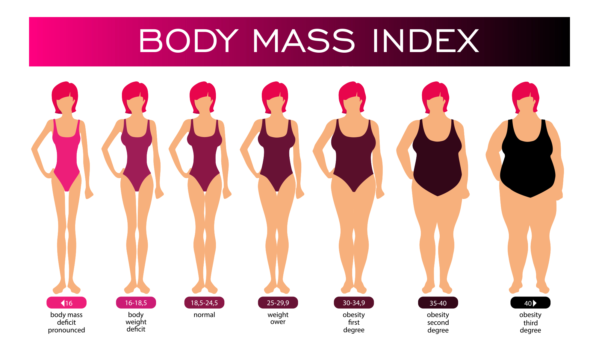 Body Mass Index Calculator for Women