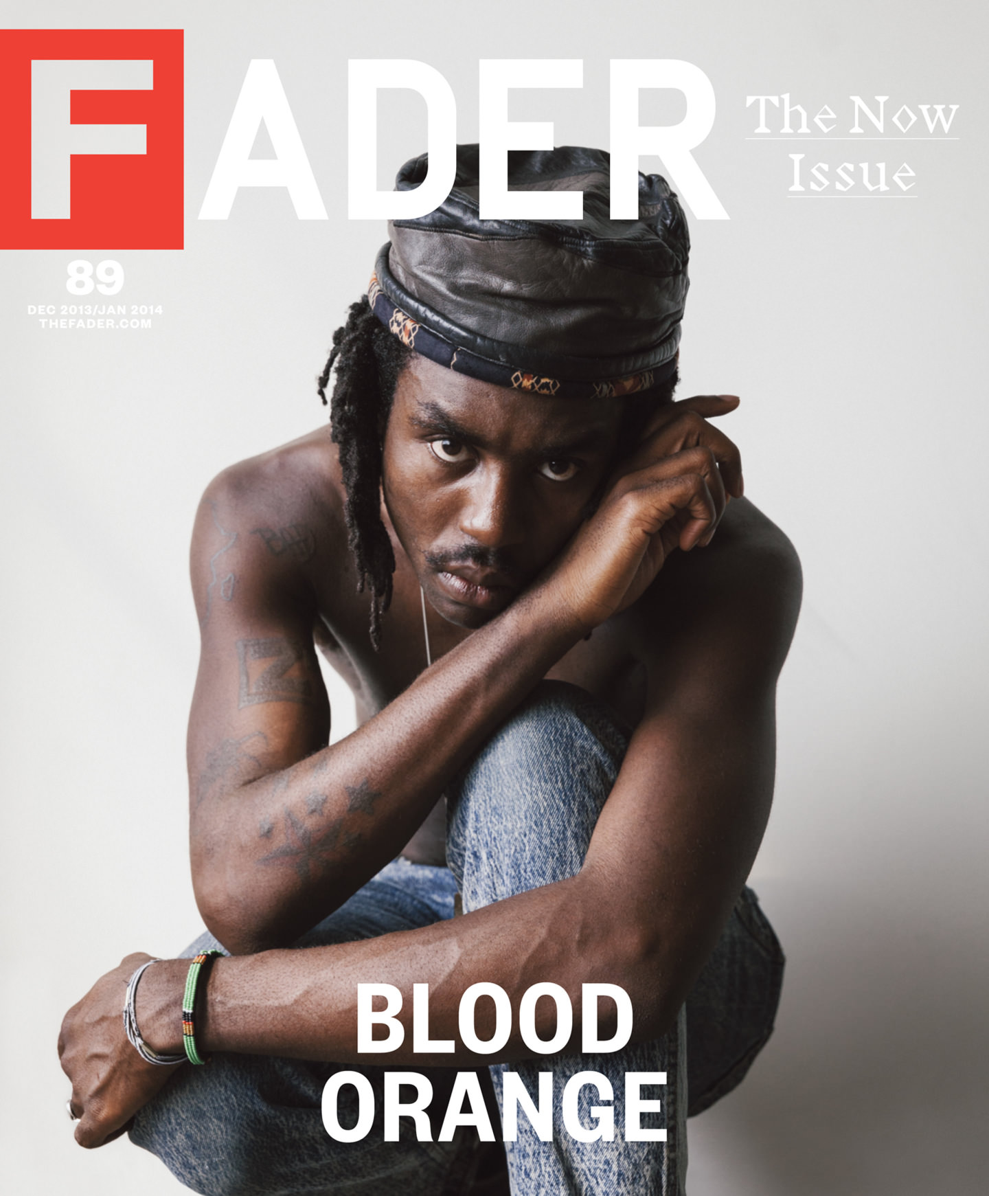 """<a href=""""http://www.thefader.com/2013/11/19/blood-orange-hitting-the-right-notes"""" target=""""_Blank"""">FADER</a>"""