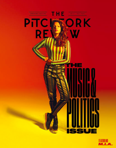 """<a href=""""http://pitchfork.com/features/interview/9947-the-survivor-a-conversation-with-mia/"""" target=""""_blank"""">THE PITCHFORK REVIEW</a>"""