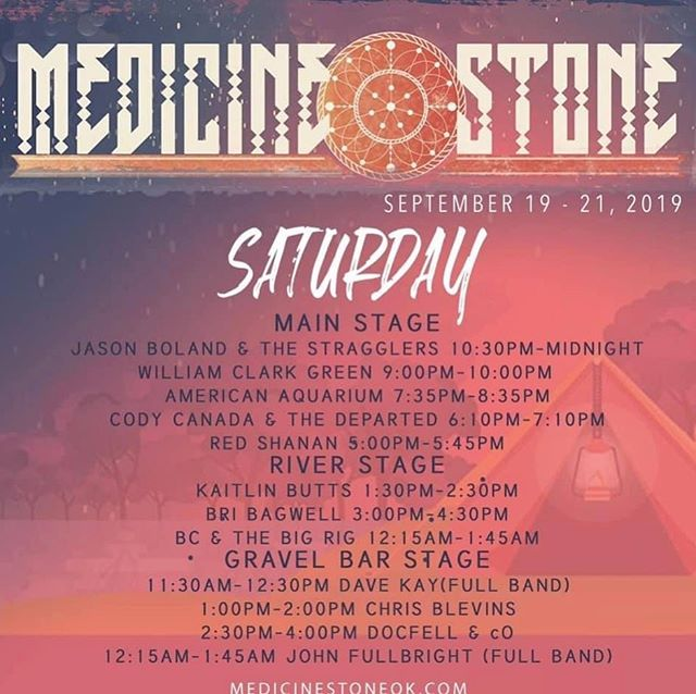 Final show of the tour.  See you in Medicine Stone.
