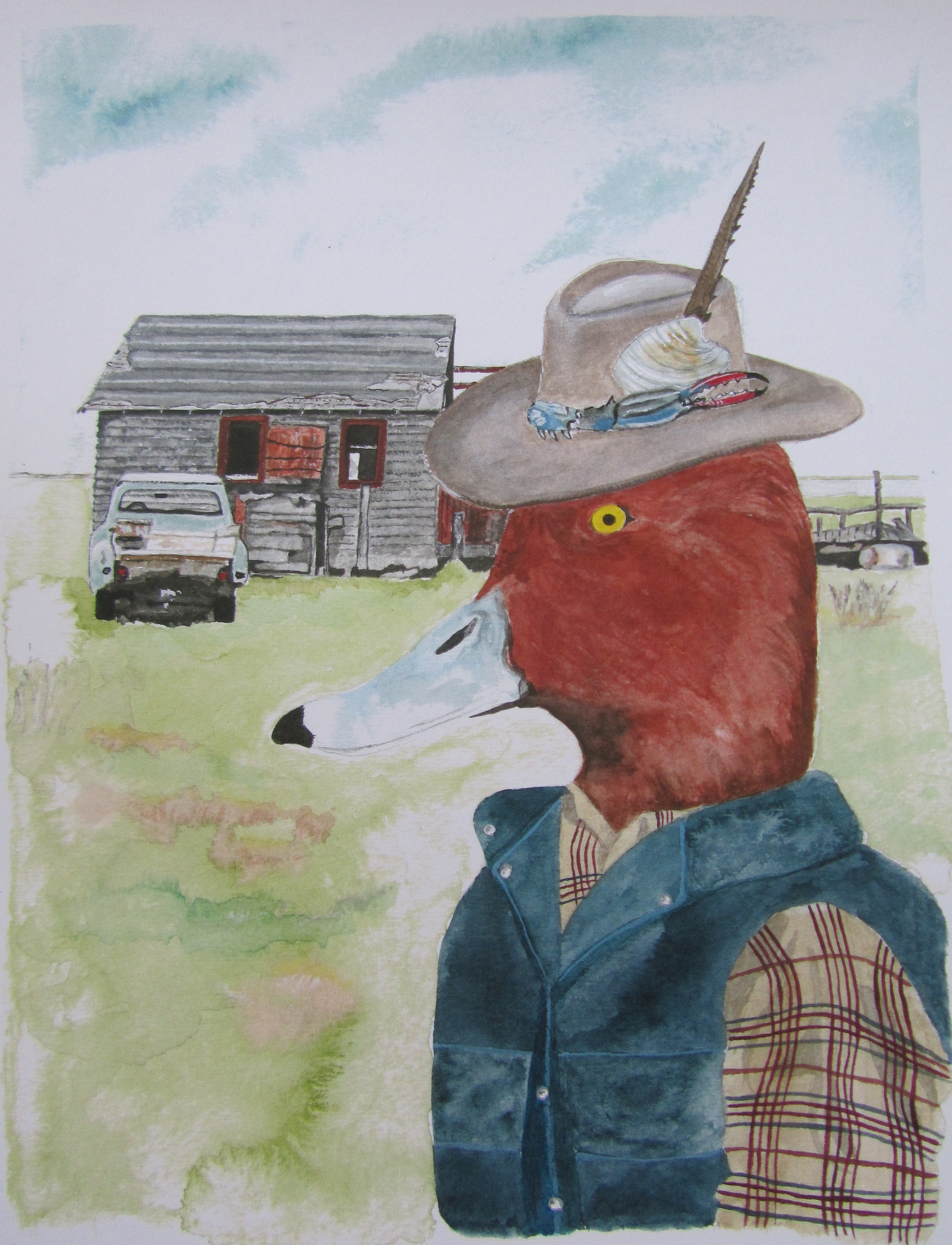 Chuck the Redhead Duck & The Shack, 1985