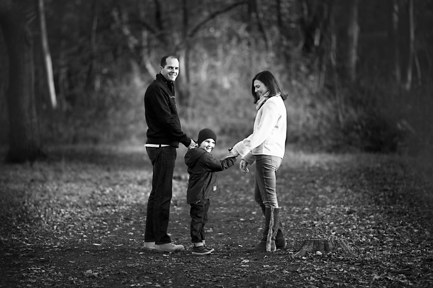 Family portrait - Milton Keynes - Photography - B&W.jpg