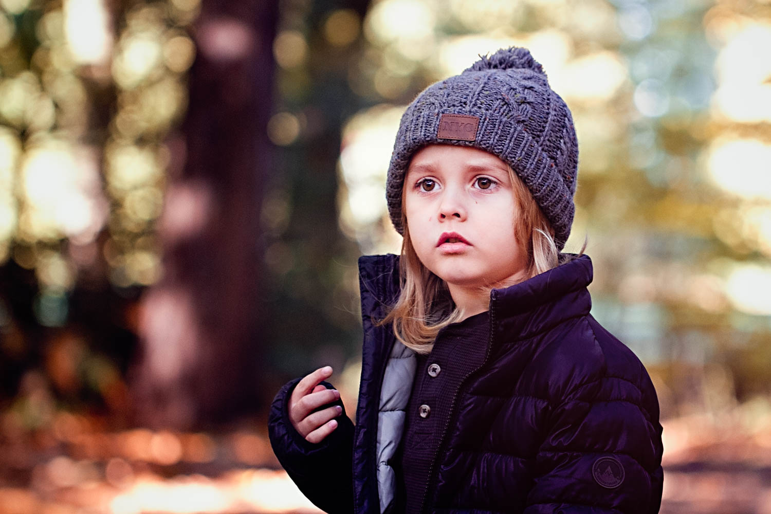 Child Portrait - Autumn colours - Ampthill - Bedford.jpg