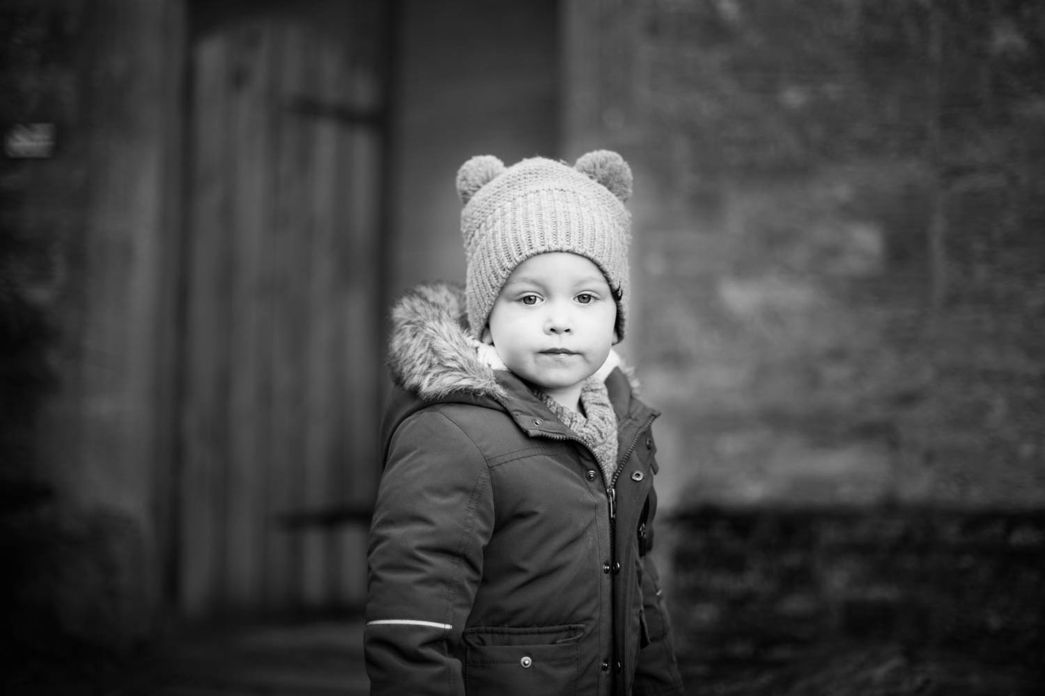 Child Portrait - Black and White - Pre-school. Bedford.jpg