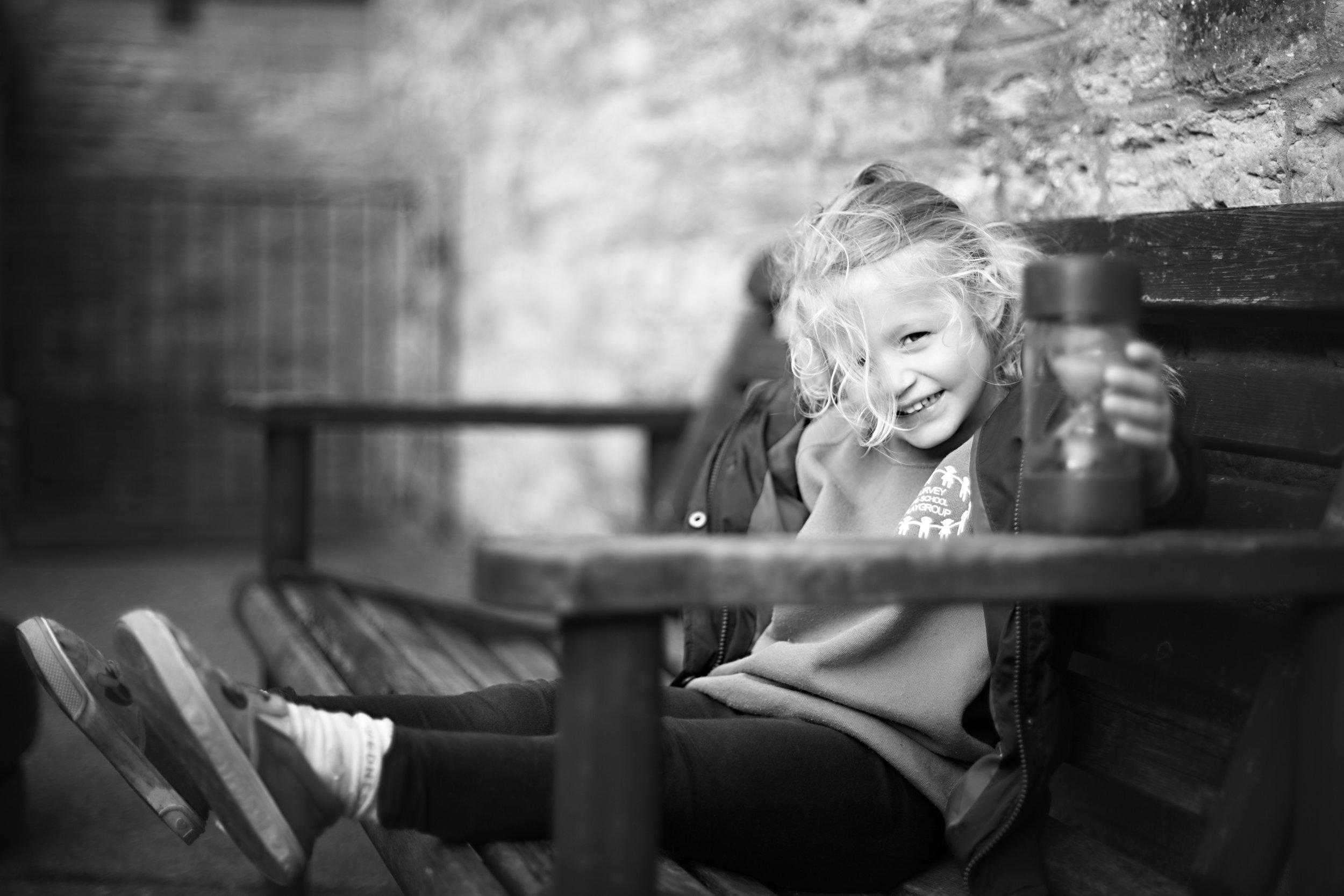 Child Portrait taken during a Preschool photoshoot in Turvey Bedford