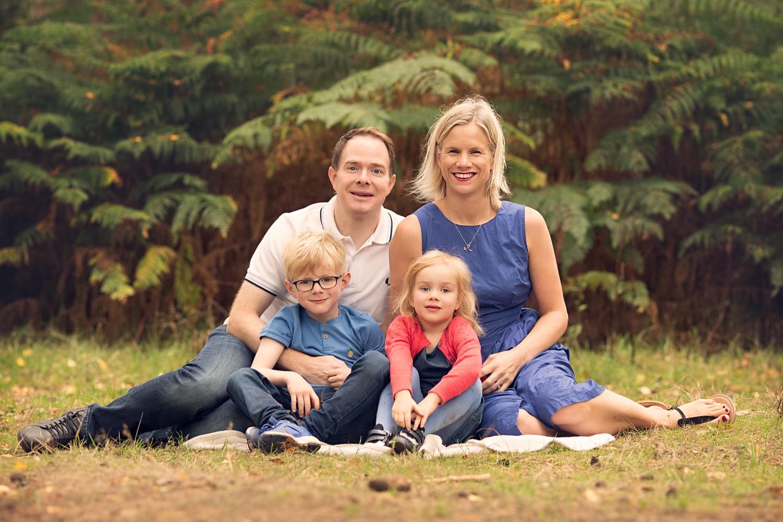 Family Photoshoot at Aspley Heath Woods