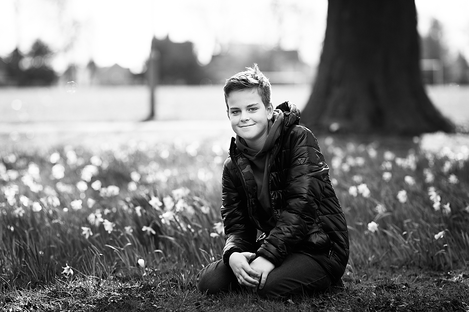 Child Portrait - Spring Photoshoot in Bedford
