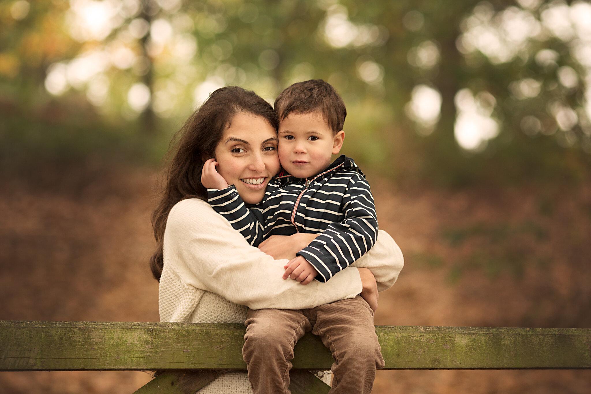 Autumn Family Photoshoot - Bedford Photographer