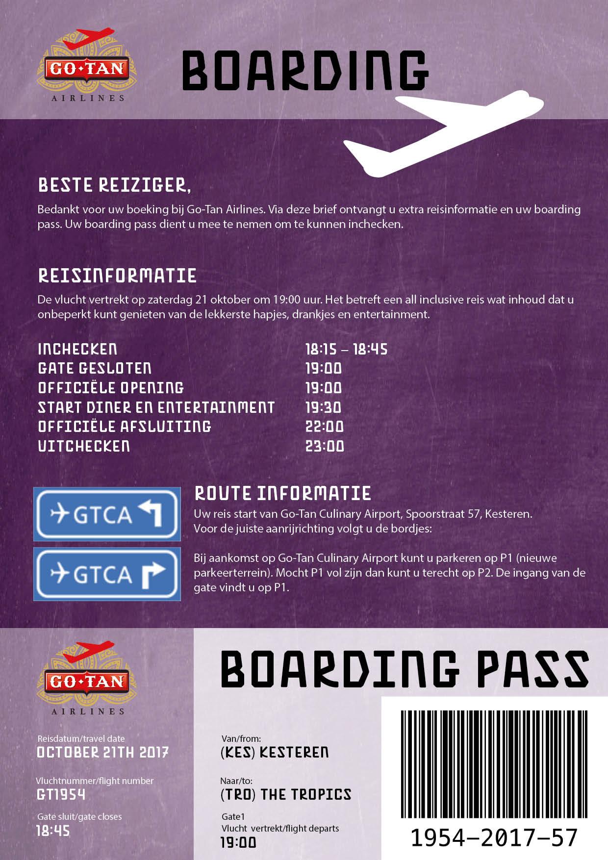 boarding brief