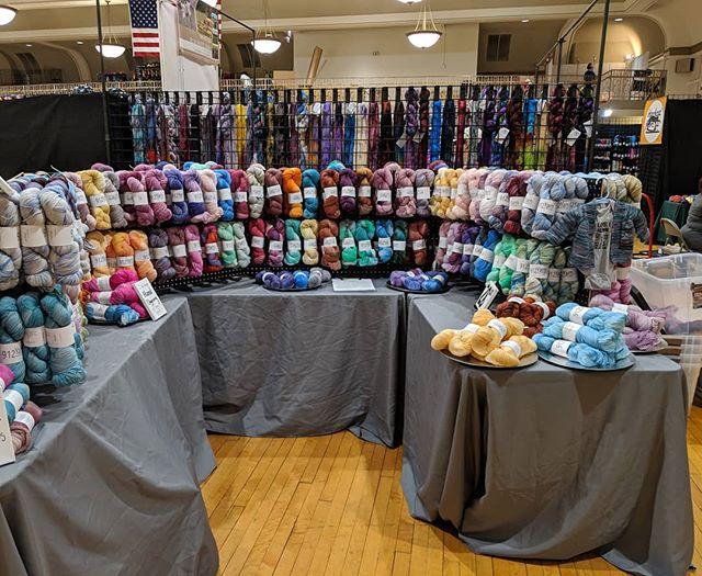 Can't wait to see you @yarncon tomorrow! #yarn #knittersofinstagram #crochetersofinstagram #weaversofinstagram #912yarn