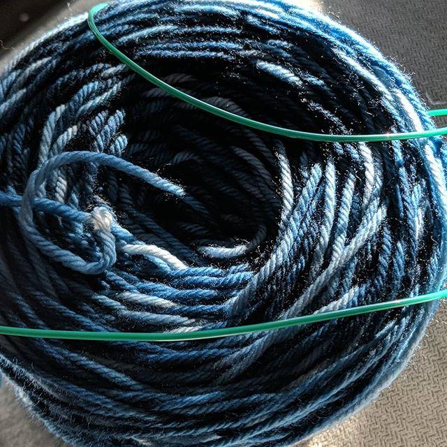 Starting something new!!! #shiftoffocus #knittersofinstagram #yarn #snowdayinapril