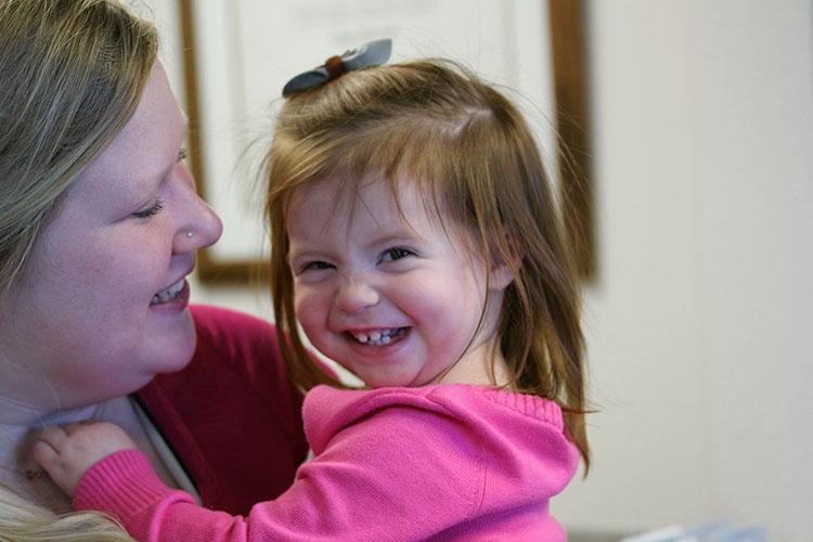 Happy Kids after Chiropractic Adjustment