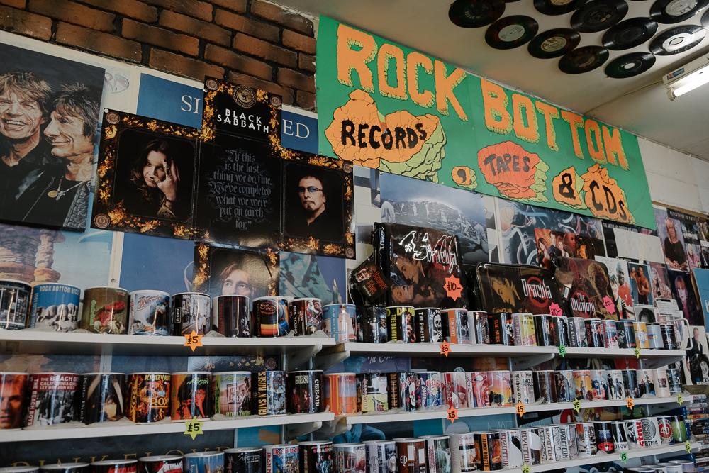 Rock Bottom records