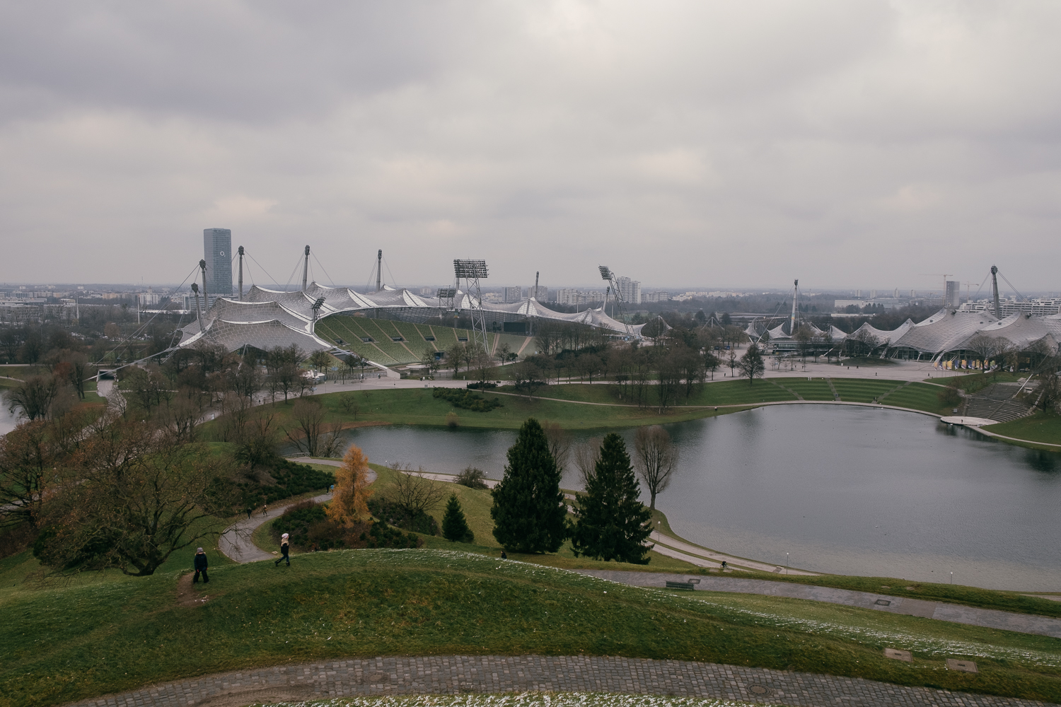 Olympicpark from the Olympicturm