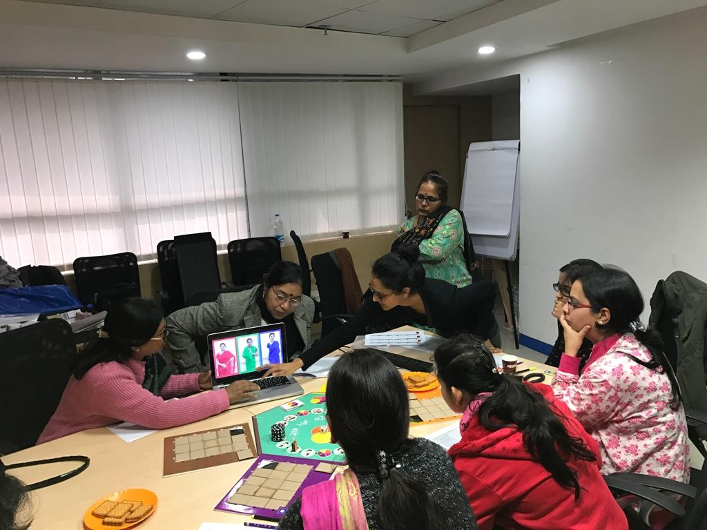 Training moderators in office