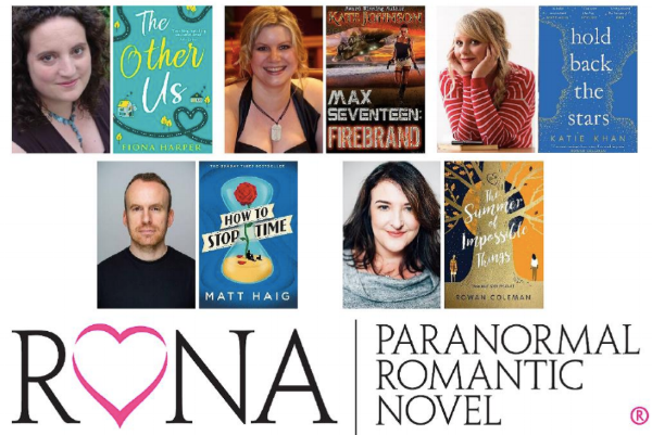 The Summer of Impossible Things , Rowan Coleman, Ebury Press  How to Stop Time , Matt Haig, Canongate Books  The Other Us , Fiona Harper, HQ  Max Seventeen: Firebrand , Kate Johnson, independently published  Hold Back the Stars , Katie Khan, Doubleday