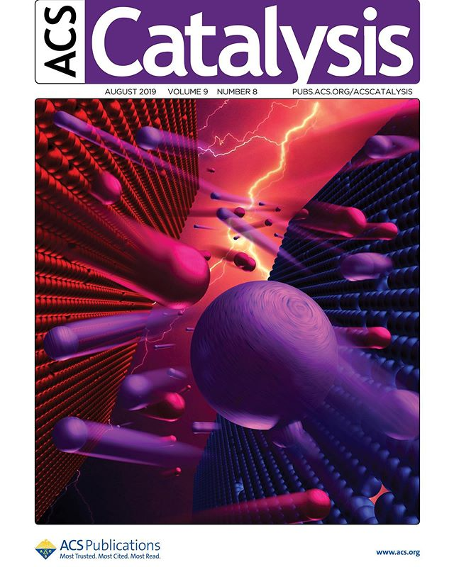 Another cover published today -  Principles of Dynamic Heterogeneous Catalysis: Surface Resonance and Turnover Frequency Response  If you understand the chemistry, please explain!