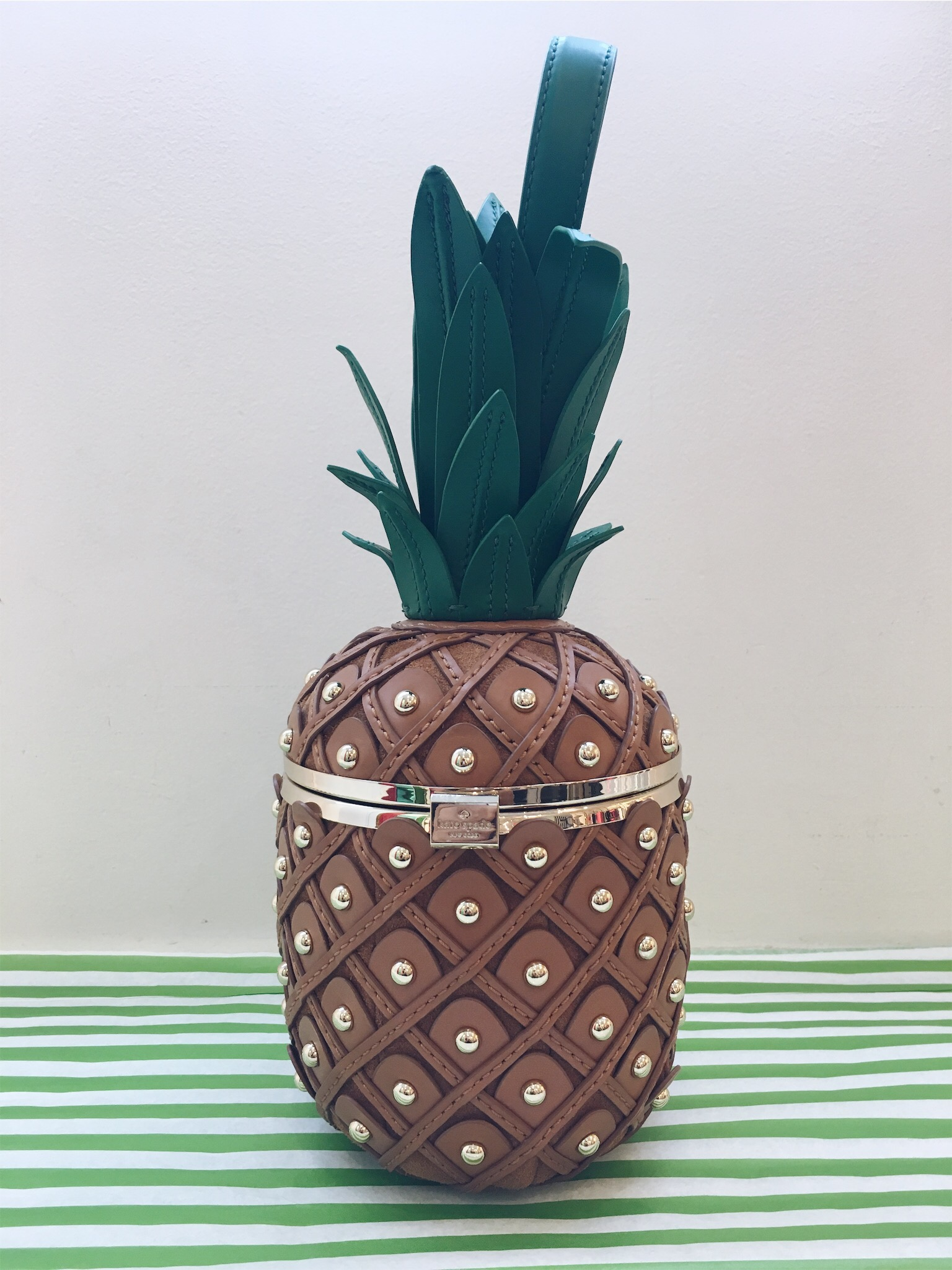 This fabulous pineapple bag is sold out EVERYWHERE!