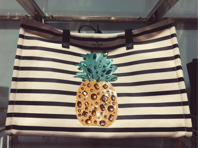 Mega pineapple Sam tote