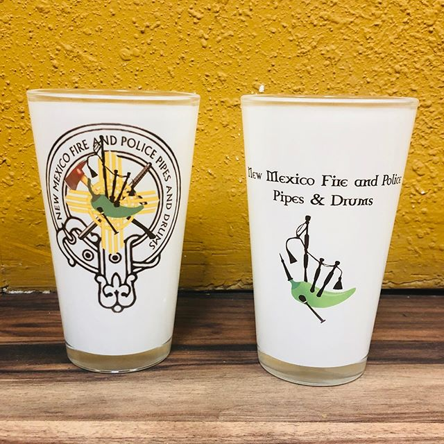 We now offer full color images on pint and shot glasses. #akasatrophy #allabouttrophies #newmexico #smallbusiness #supportsmallbusiness #albuquerque #505 #dukecity #sublimation #laser #engraving #gifts #trophies #trophy #award #shirt #shirts #somethingnew #promo #custom #apparel #promotional