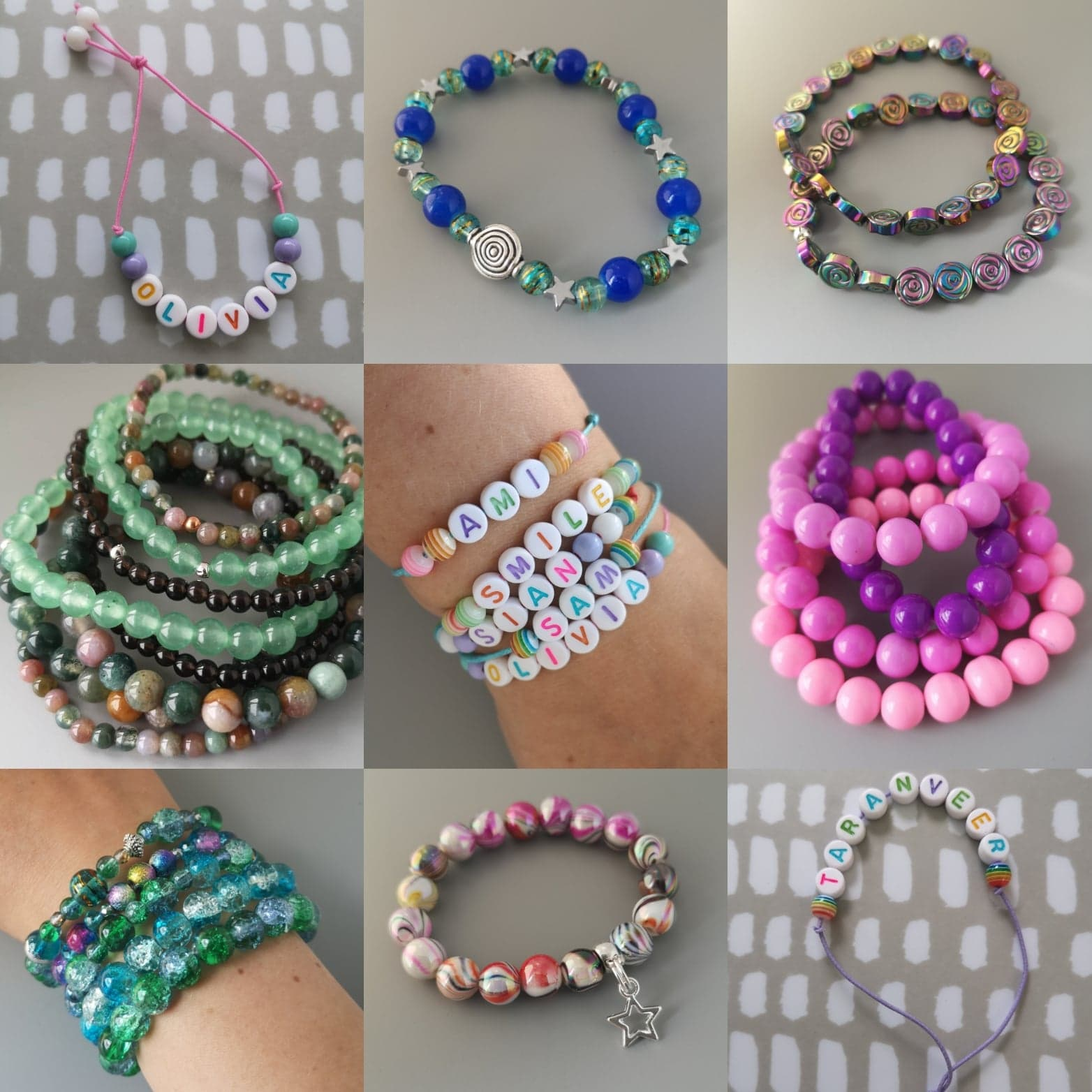 15 September | 1pm - 3pm   Choose from hundreds of beautiful beads to make and take away your own name bracelet or beaded bracelet. Suitable for children and adults, just drop in between 1.00pm and 3.00pm in the Gallery.  (from £3 per bracelet)