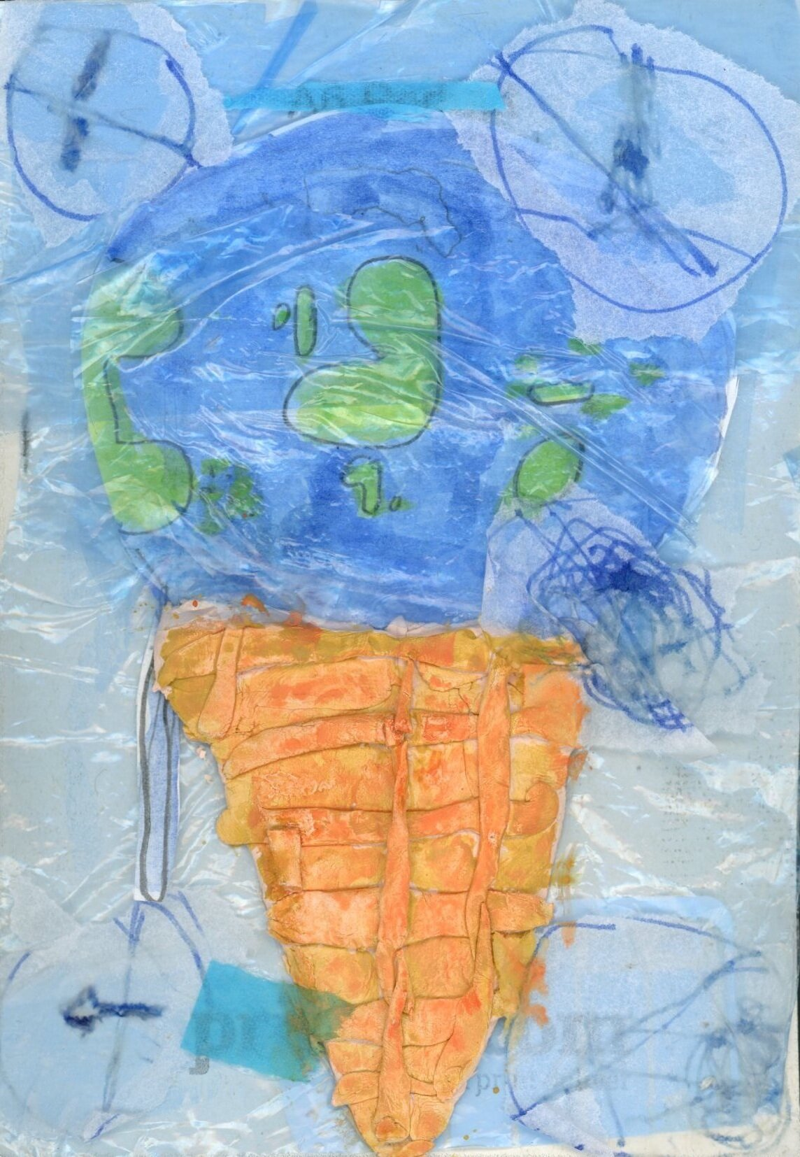 Prize Winner  Strongest visual message, Reggie aged 7