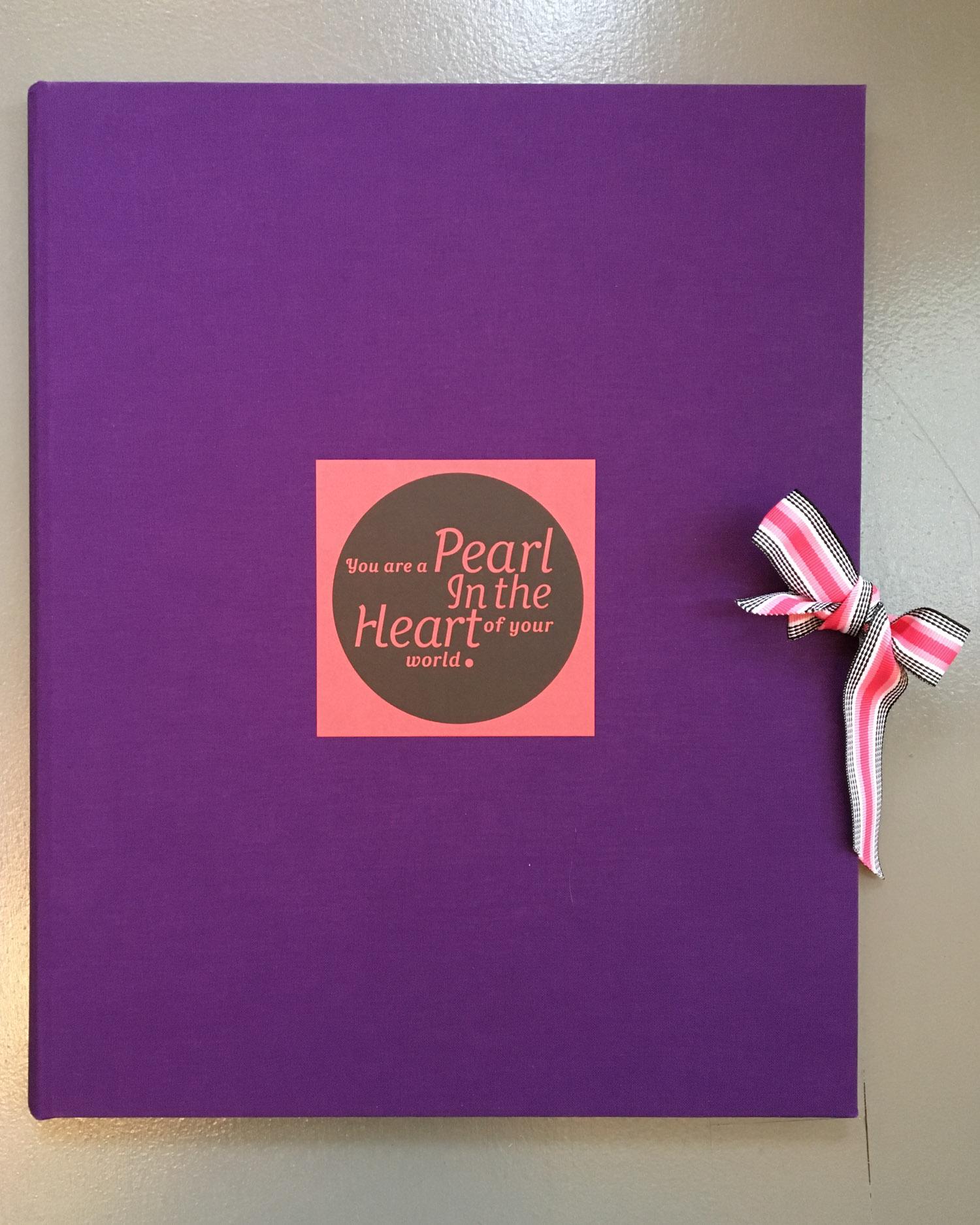 SVC Children's Hospital poetry broadside portfolio cover