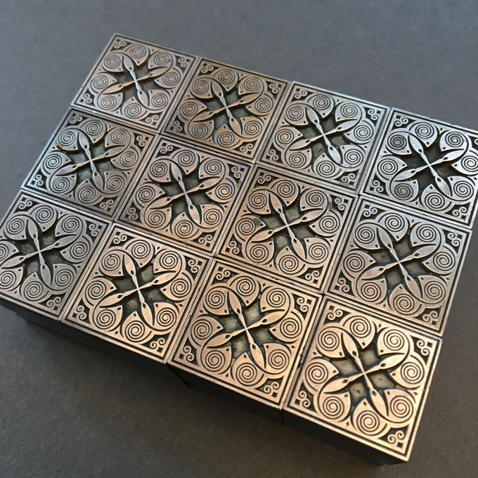 Stempel ornaments used for letterpress printing