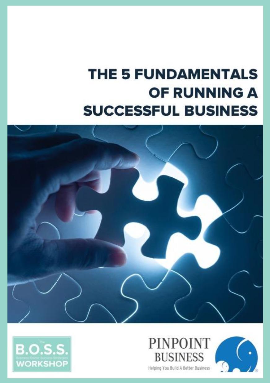 The 5 Fundamentals of a Successful Business eBook