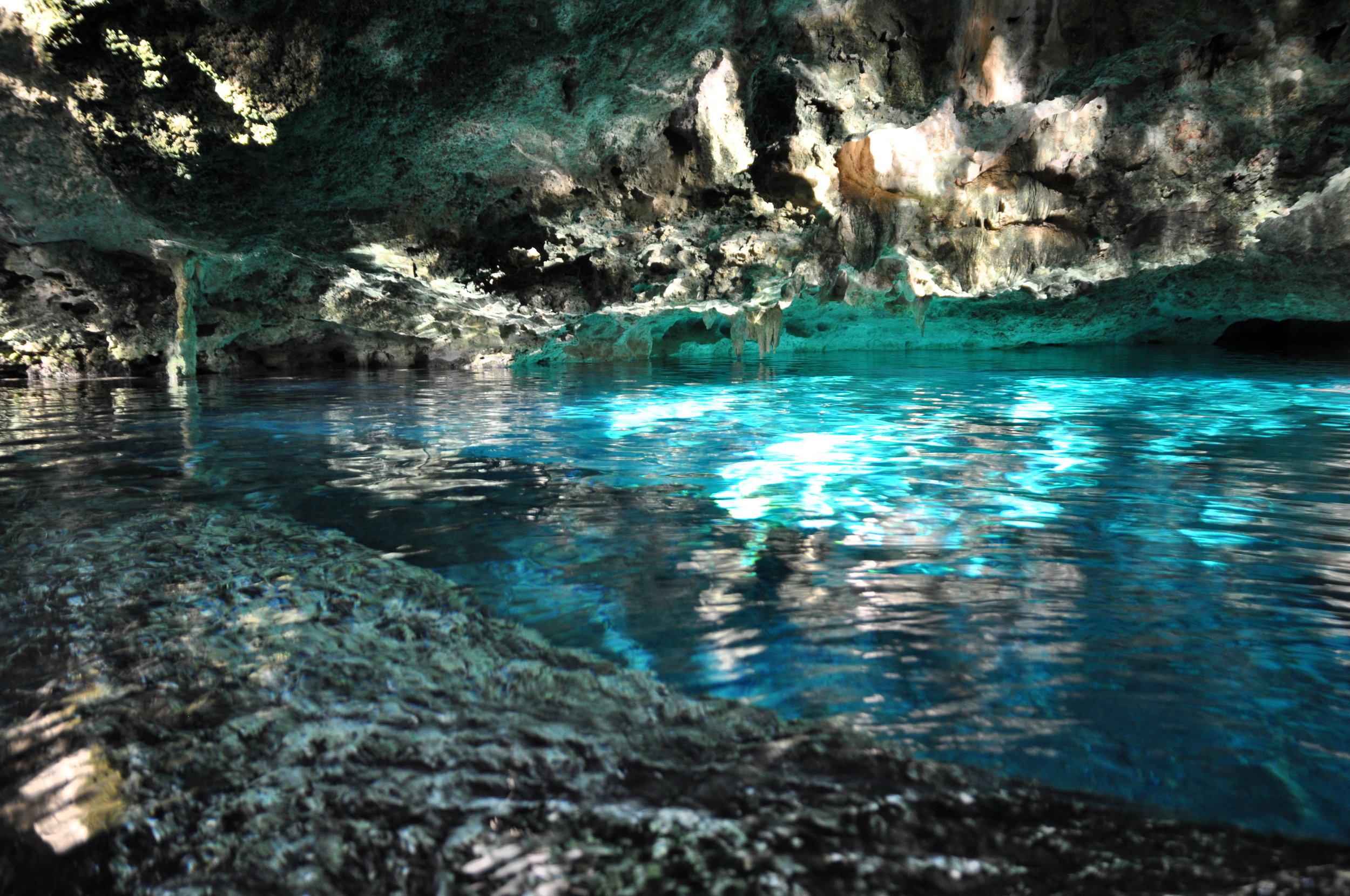 Cenote Dos Ojos outside Tulum