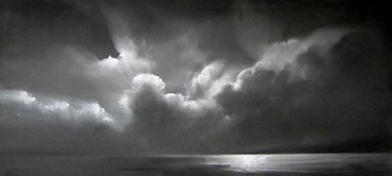 """Illumination V (Pastel on paper, 20"""" x 44"""")"""
