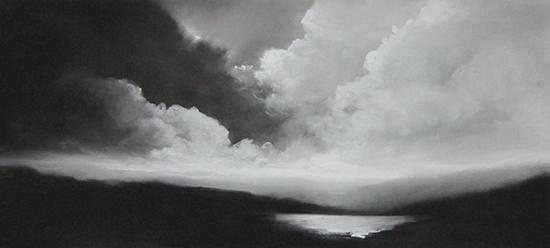 """Illumination IV (Pastel on paper, 20"""" x 44"""")"""