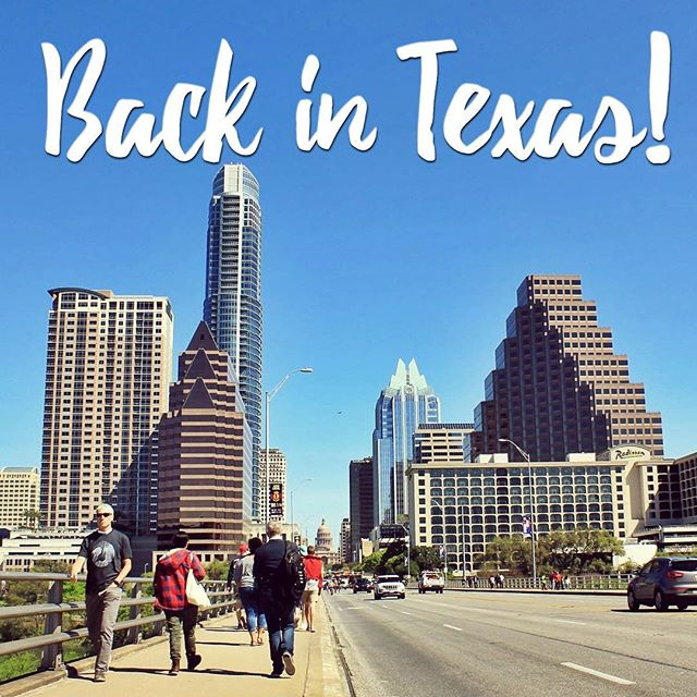 That's right, guys; I'm officially back in beautiful Austin, Texas!  Our time in Rhode Island was an adventure for sure, AND I'm happy to be back in my home state. 😊💕 I'm currently available for mobile/in home appointments while my office is in the works.  Email lauraejohnsonlmt@gmail.com or call/text 512.829.1503 to schedule. #austin #atx #austinmassage #massagetherapy